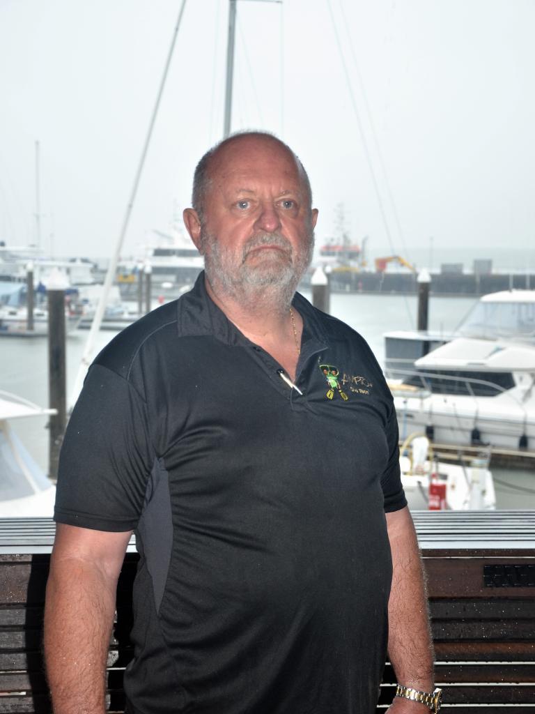Association of Marine Park Tourism Operators executive director Col McKenzie. Photo: JACK LAWRIE