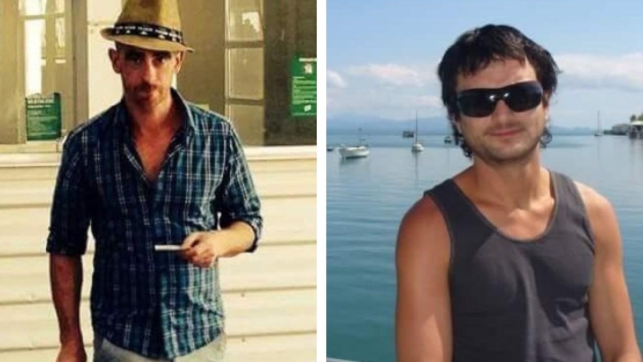 Jason Colton (left) has been jailed for killing Airbnb guest Ramis Jonuzi.
