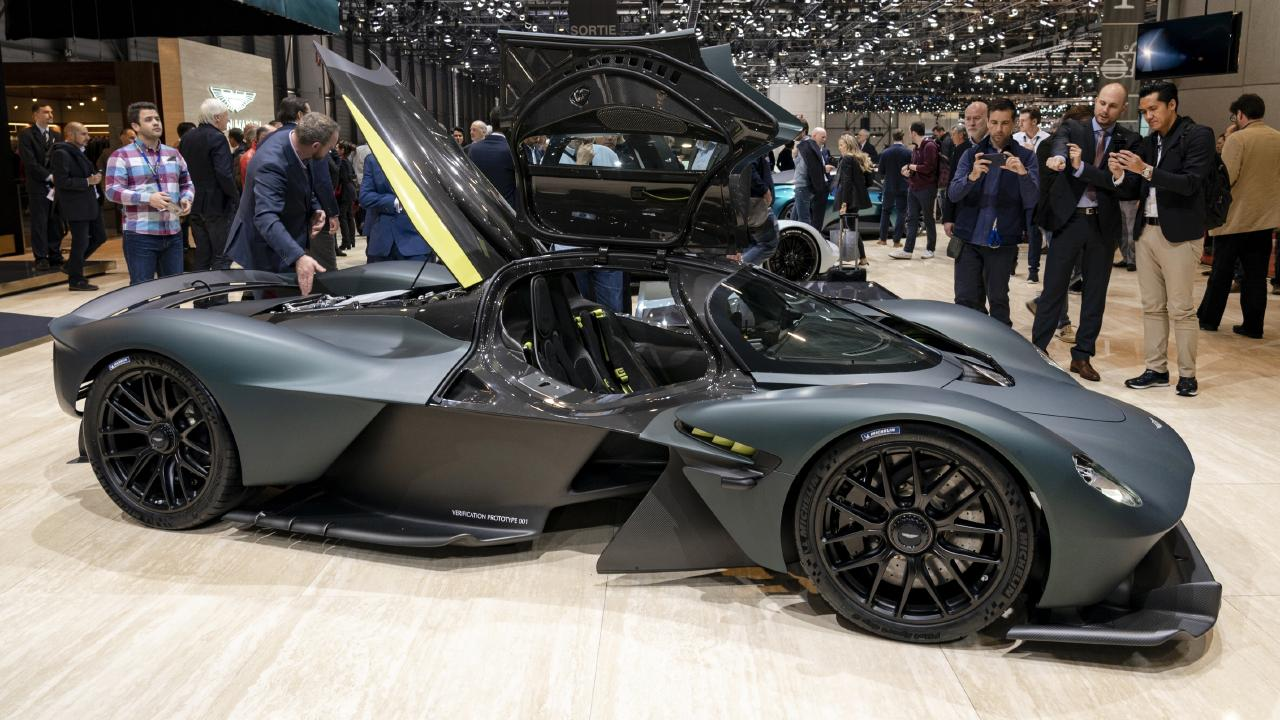 Palmer says the Aston Martin Valkyrie will be the 'greatest car ever'.