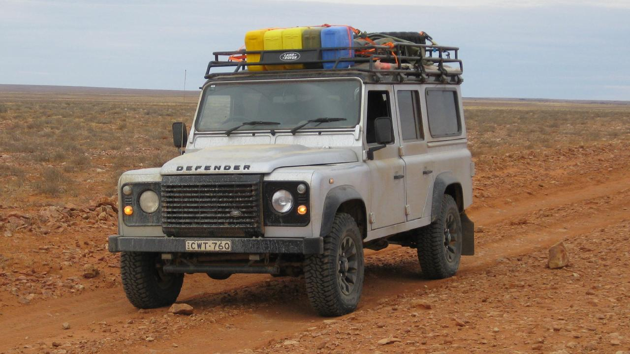 Land Rover Defender is known for its off-road ability.