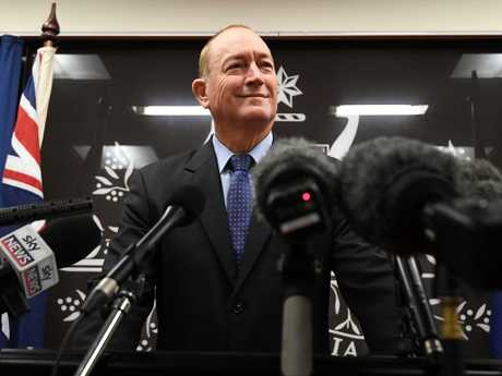 Anger is intensifying over Senator Fraser Anning's comments about the Christchurch massacre. Picture: AAP Image/Dan Peled
