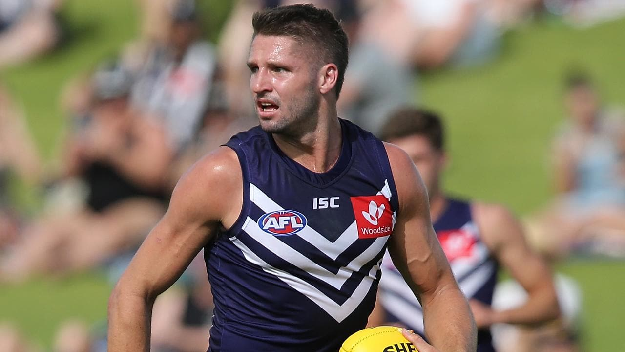 More details have emerged surrounding the Jesse Hogan incident. (Photo by Paul Kane/Getty Images)AFL: Fremantle star Jesse Hogan has been stood down for alcohol related issues.