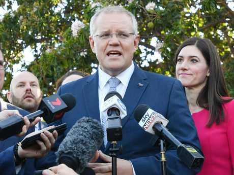 Prime Minister Scott Morrison says he won't do a preference deal with One Nation. Picture: AAP Image/David Mariuz