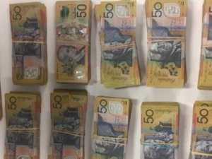 Huge cash haul found in plastic shopping bag