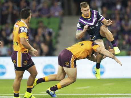 Matt Lodge also put on a questionable hit over the weekend.