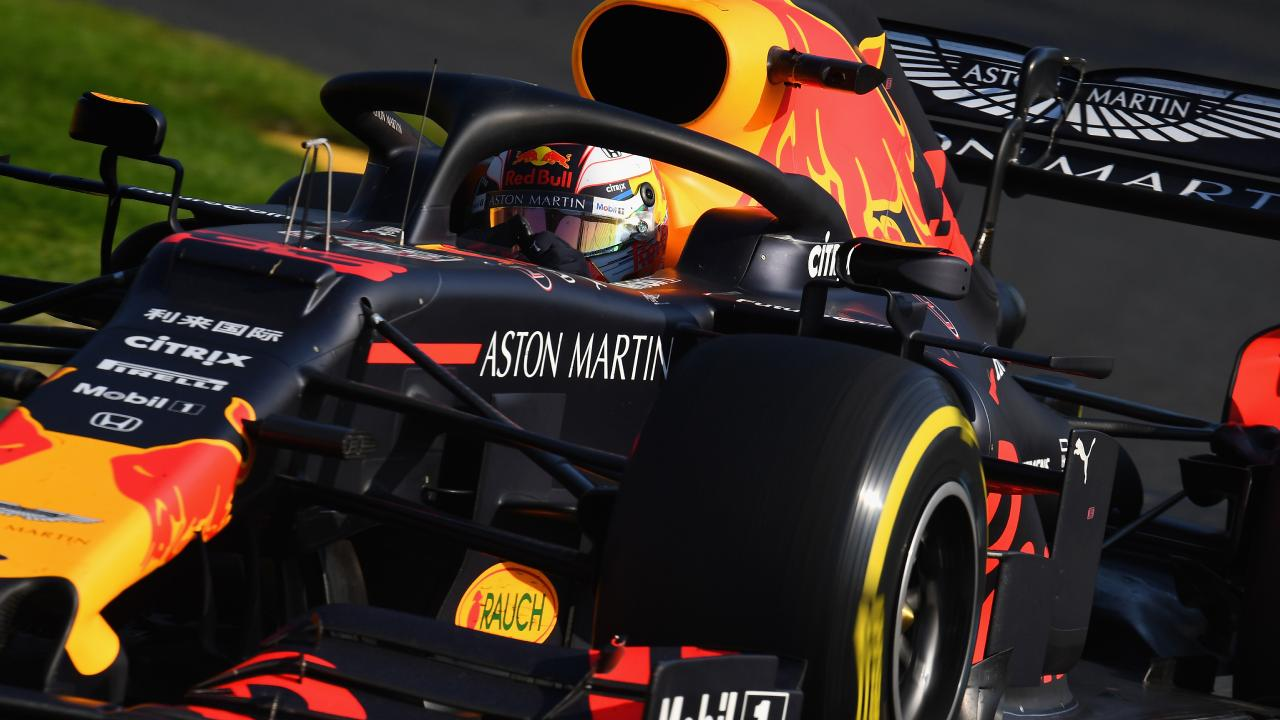 Aston Martin sponsors Red Bull Racing in Formula 1. (Photo by Clive Mason/Getty Images)