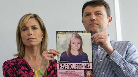 Kate and Gerry McCann have spent more than a decade desperately searching for their daughter. Picture: Dan Kitwood/Getty Images