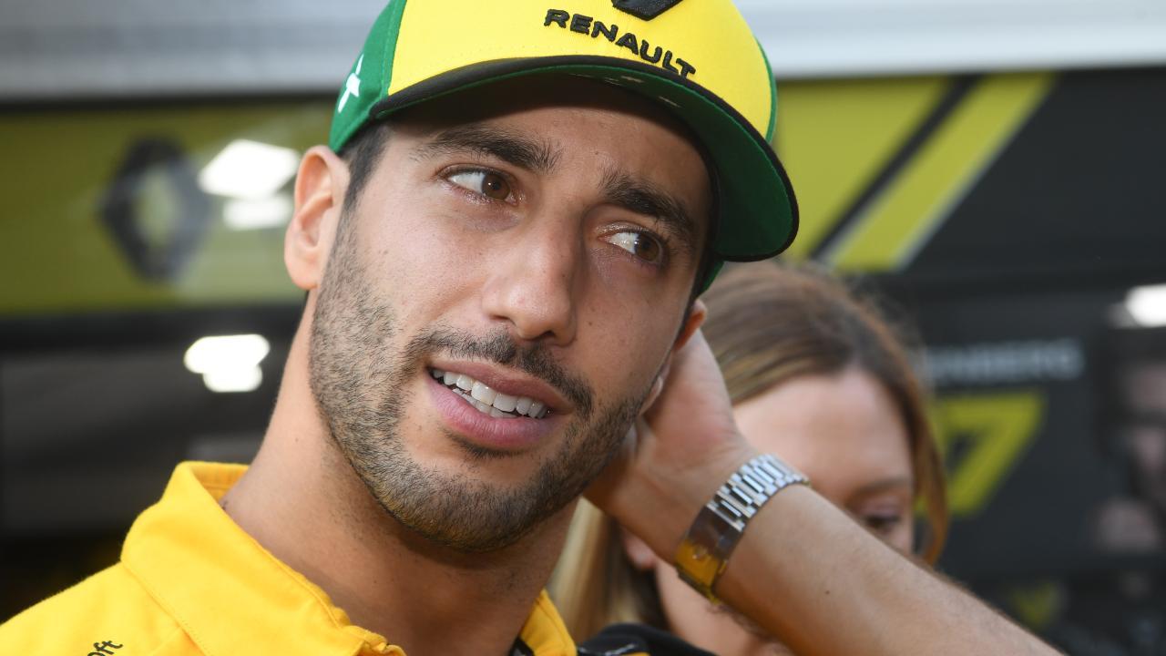 Daniel Ricciardo is learning the hard way what life's like outside the 'big three'.