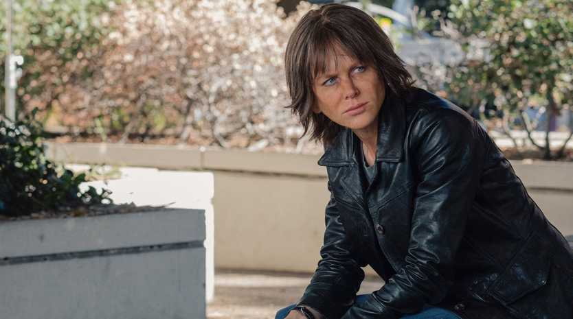 Nicole Kidman stars as Erin Bell in the movie Destroyer.