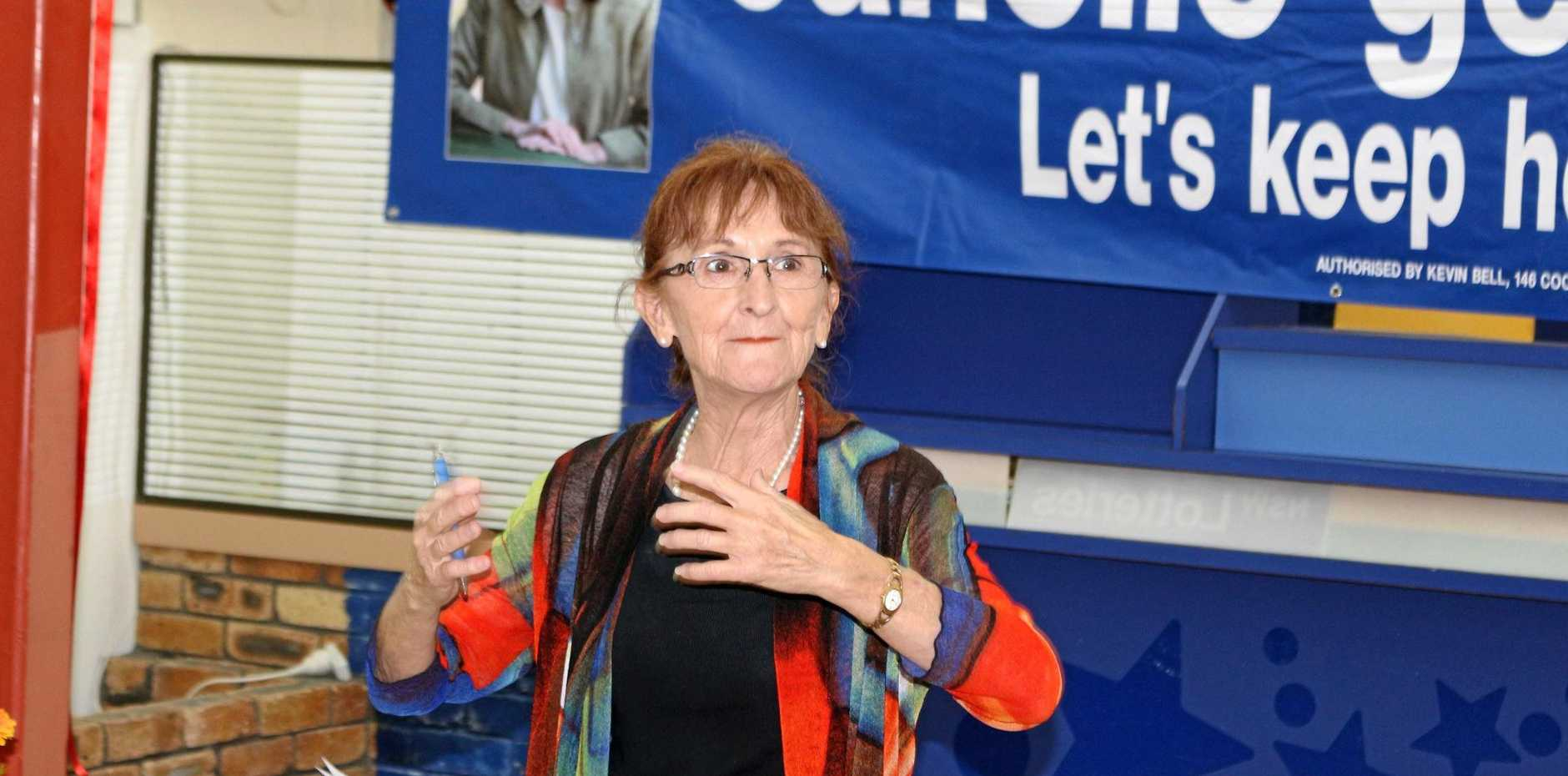 Country candidate for Lismore Janelle Saffin has thrown her support behind a plan to upgrade schooling facilities.