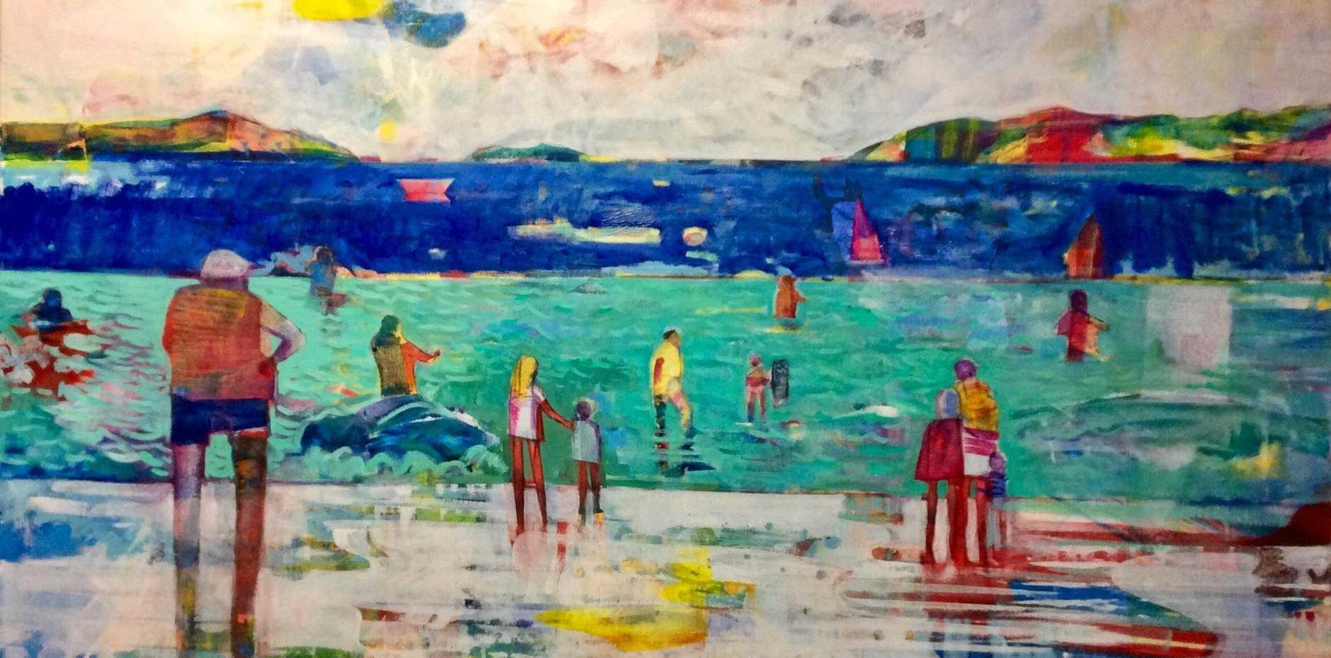 COLOUFUL: Beach People 4 by Nick Olsen.