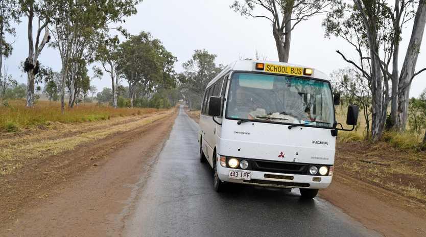 UPGRADE NEEDED: School bus operator Graham Henningsen is a daily user of the Biggenden-Gooroolba Road.