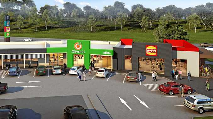 3D model of new service centre in Coffs Harbour.