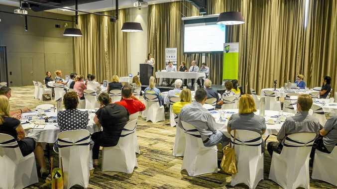 FUTURE FORUM: The inaugural Gladstone Future CQ breakfast was held at Yaralla Sports Club yesterday.