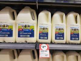 Supermarket ups the cost of milk to help farmers