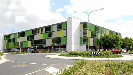 The new Rockhampton Hospital Carpark.