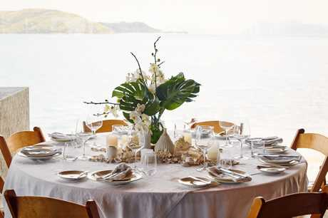 Event styling at Daydream Island.