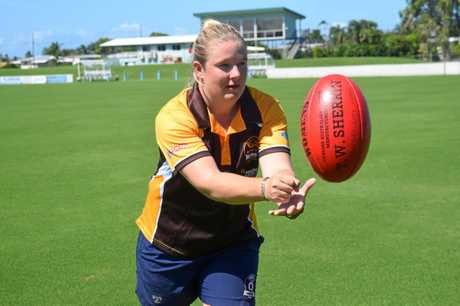 HOME SUPPORT: New Hawks A-Grade assistant coach Jennifer Ritchie says the club has only been supportive of her.