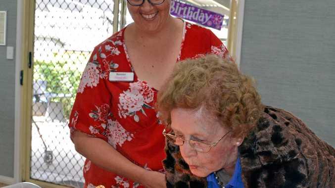 Dorothy celebrates centenary milestone with friends, family