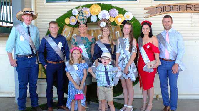 WINNERS: The Fashions on the Fields winners at the 2018 Wandoan Cup.