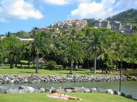 Airlie Beach's Tidy Towns accolade