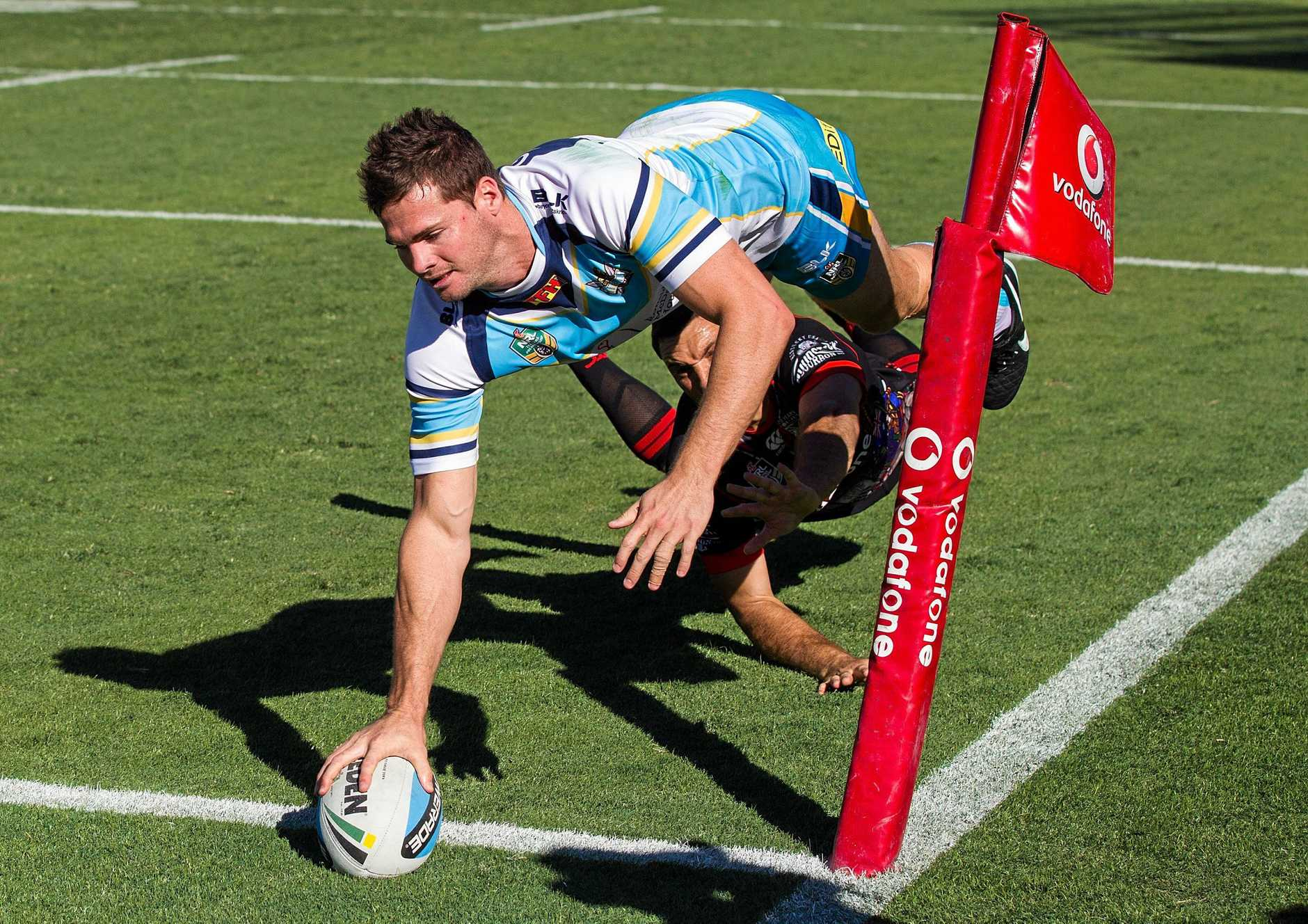 Anthony Don has been a prolific try-scorer for the Gold Coast Titans, currently sitting equal leading try-scorer with David Mead.