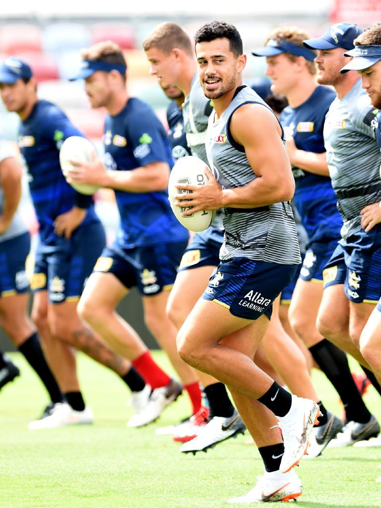 Jordan Kahu faces his old Broncos mates on Friday.