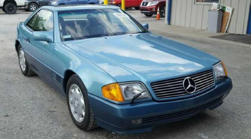 1991 Mercedes-Benz SL500. Source: Copart autions