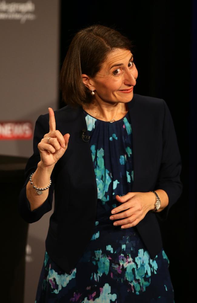 Gladys Berejiklian. Picture: Jonathan Ng