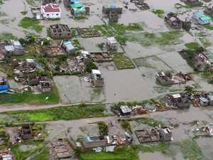 'Bodies are floating': Entire city destroyed