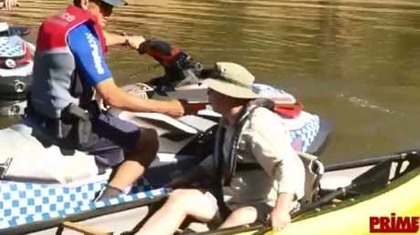 Don't drink and kayak in NSW. Picture: Prime7