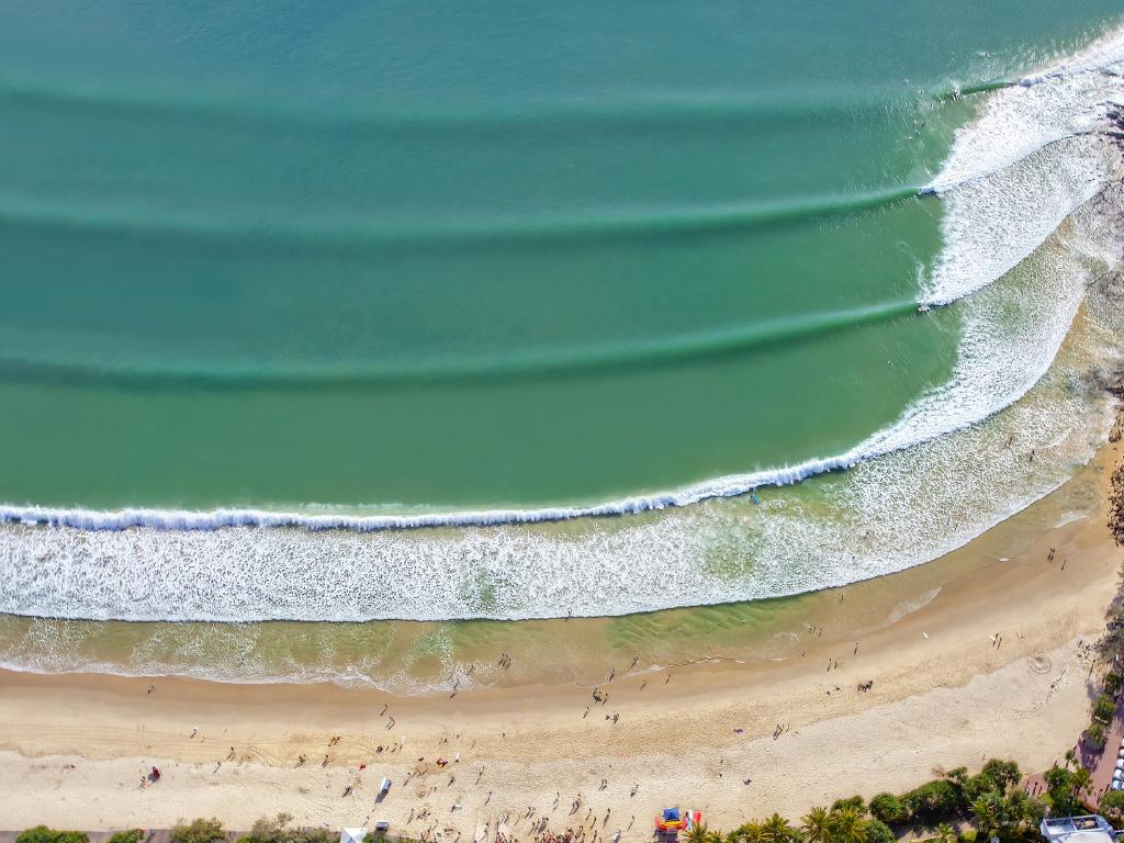 """Unfinished Symphony"" was taken at Noosa Heads, Queensland from a helicopter.  Picture: Paul Smith"