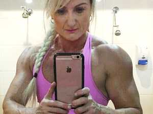 Footy star's sculpted sister on steroid charge