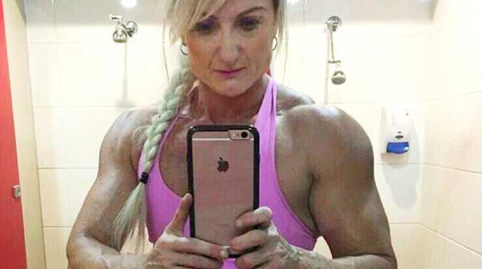 An Instagram image of former body builder Michelle Achilles.