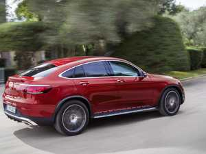 Fresh tech for luxury Mercedes-Benz GLC Coupe