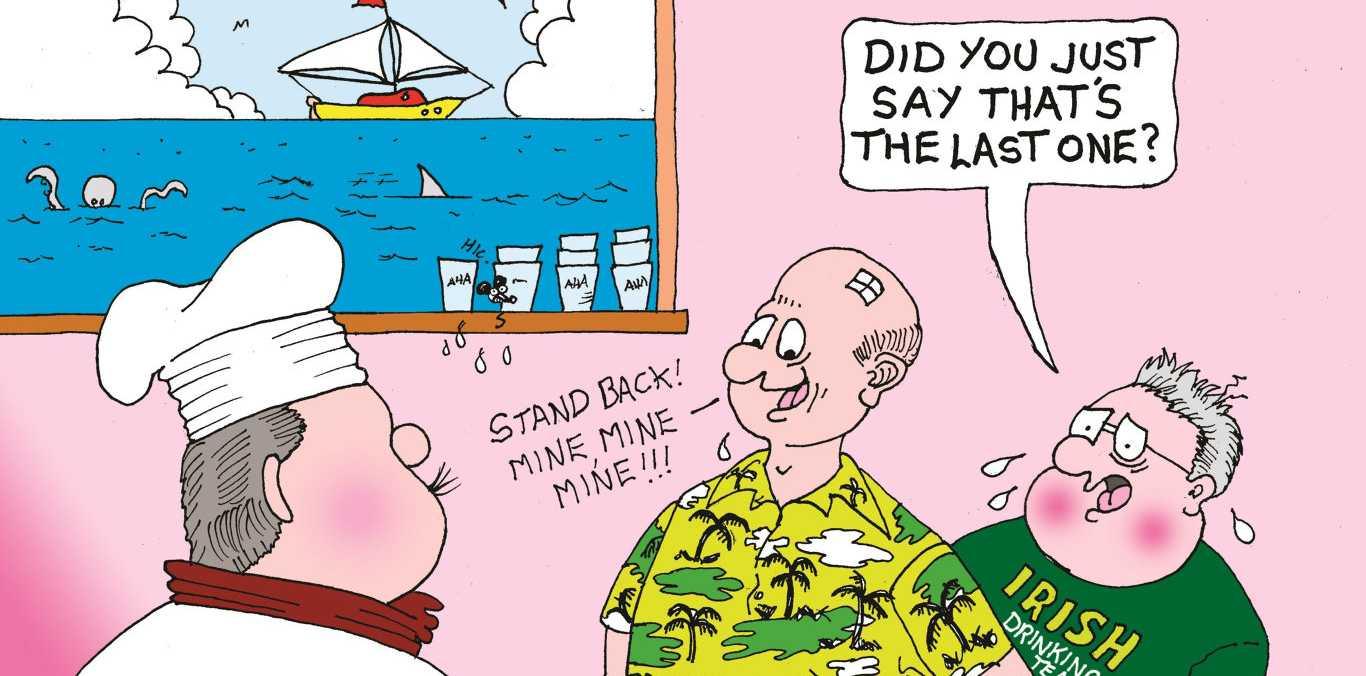 Peter Patter cartoon for 22/3/19
