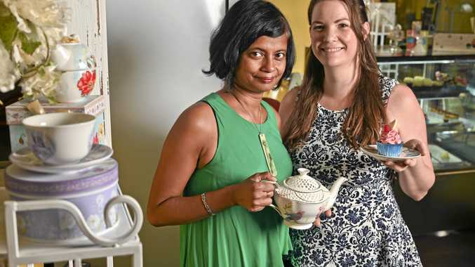 Tranquil tea sweetens business deal