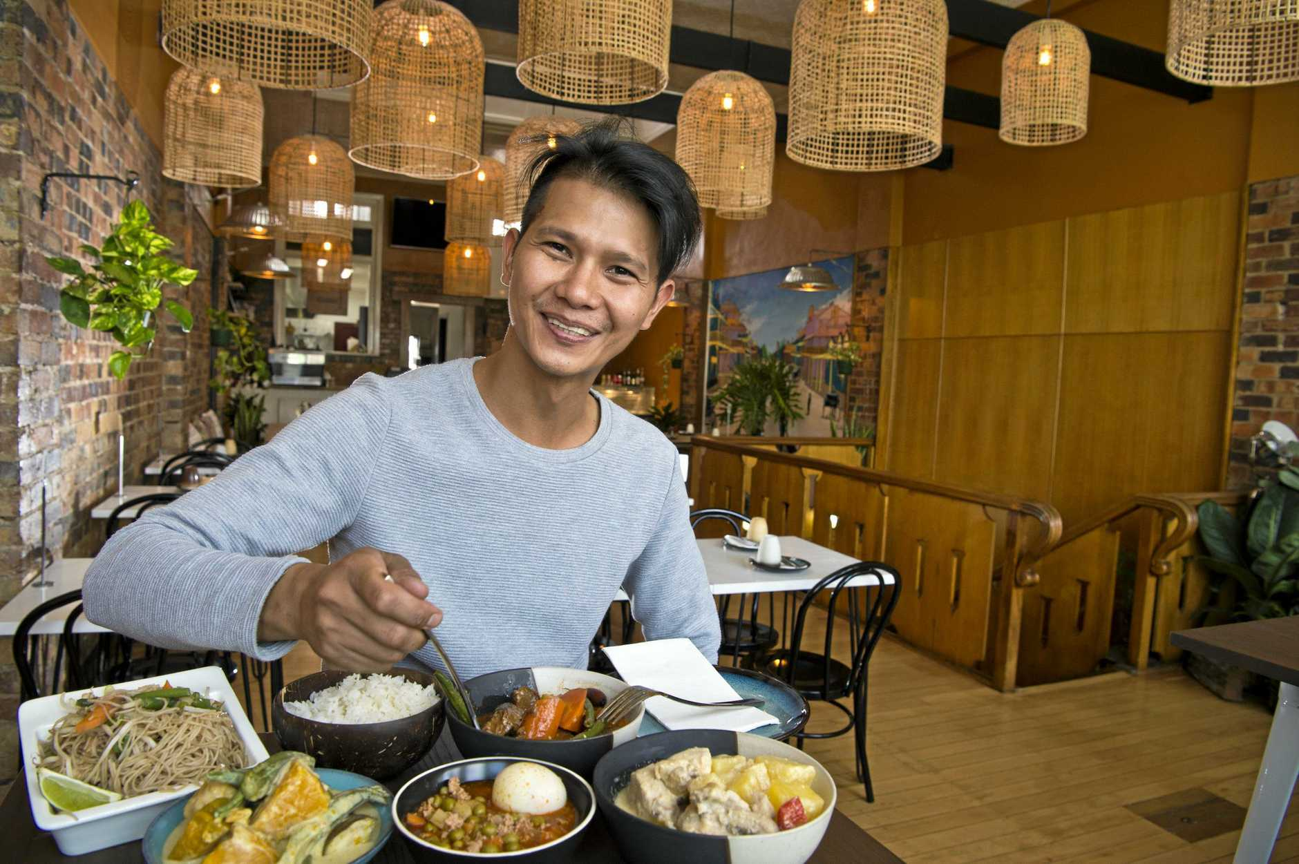 TURO TURO: Kusina ATBP owner Raphael John de Paula is thrilled to re-launch his restaurant.