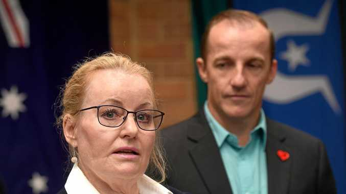 CRUNCH TIME: Lismore City Council's general manager Shelley Oldham and Lismore mayor Isaac Smith said now the Imagine Lismore Delivery Program 2017-2021 deferral and cancellation matter has been dealt with they will continue to work to balance Council's the $6 million budget deficit.