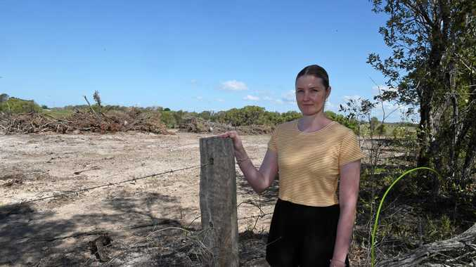 FORESTS FLATTENED: Land cleared for new residential estate