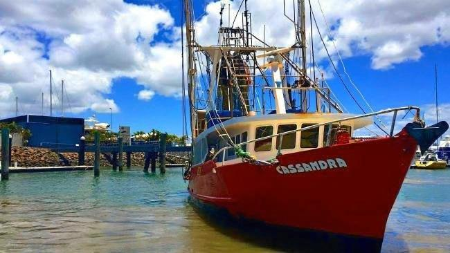 INQUEST: A joint inquest is underway in Gladstone into the sinking of FV Cassandra (pictured) and FV Dianne.
