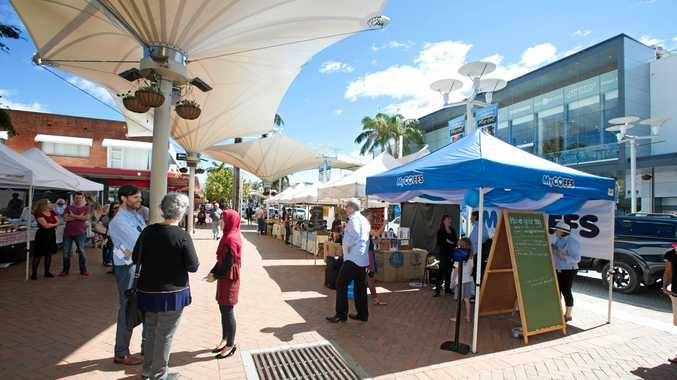Coffs Harbour's $2.3 million upgrade of City Square has begun this week.
