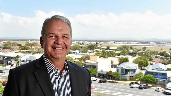 Sunshine Coast Airport CEO Andrew Brodie.