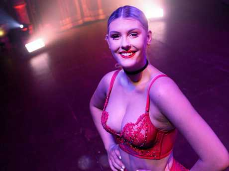 Infamous The Show performer Brooke Lawrie.