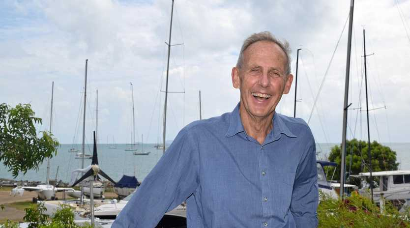 IN TOWN: Bob Brown paid a visit to the Whitsundays on Thursday.