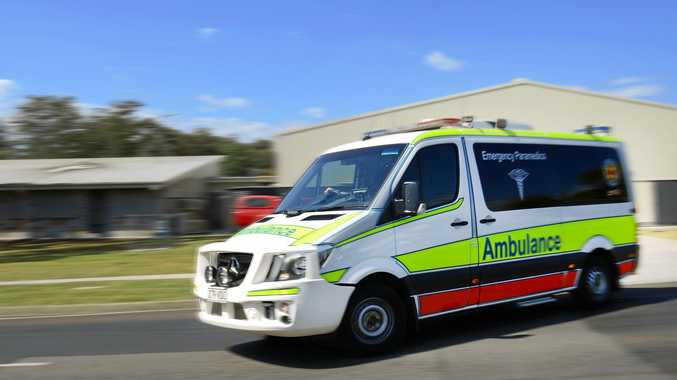 CRASH: A 50-year-old man has been injured after a crash with a B-double truck on the Western Downs.