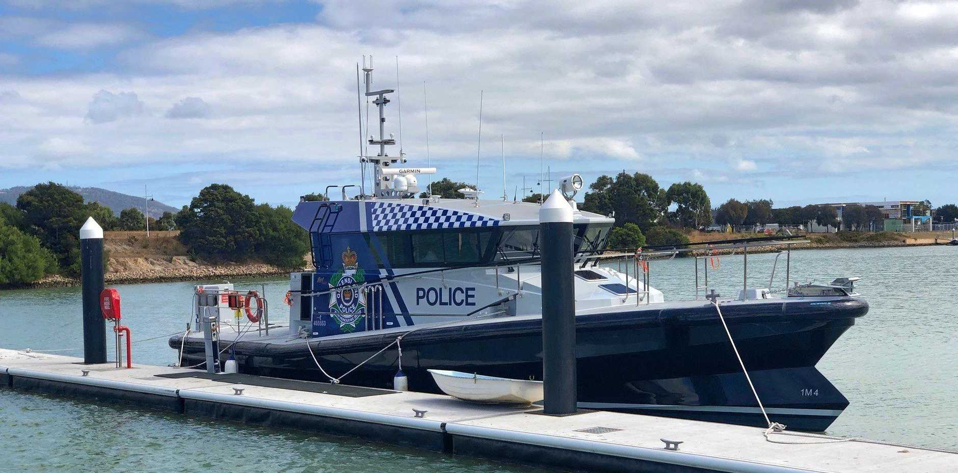 Sunshine Coast Water Police's new boat is being tested in Victoria before delivery to Mooloolaba.