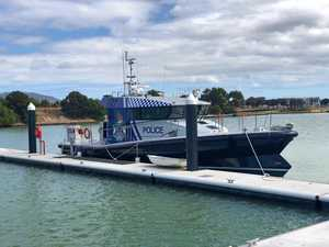 New police boat on way after testing delay