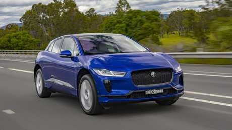 Jaguar's I-Pace is priced from $119,000.