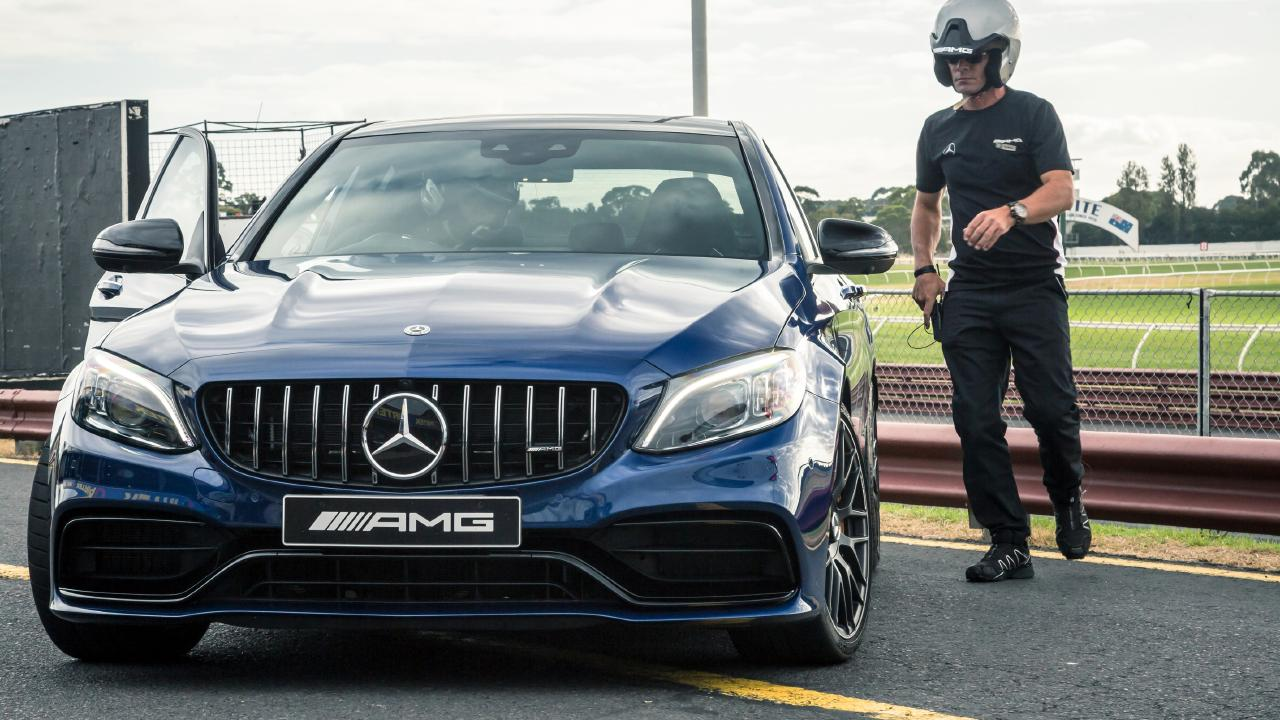 Mercedes-Benz driving instructors use sophisticated data to improve customer skills.
